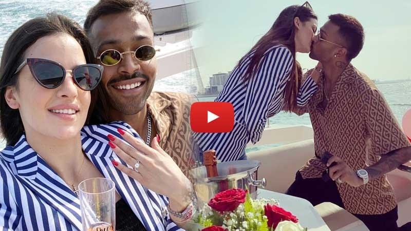 Video: Hardik Pandya gets engaged to actor Natasa Stankovic on New Year's day