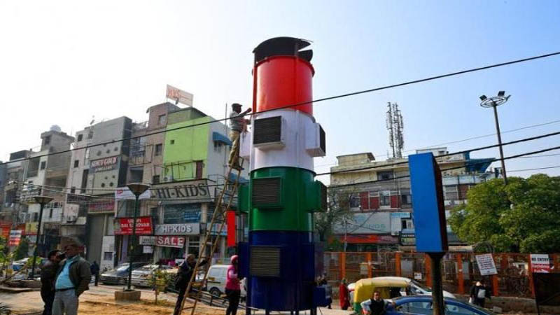 Delhi gets its first giant Smog Tower as 'Air Purifier'