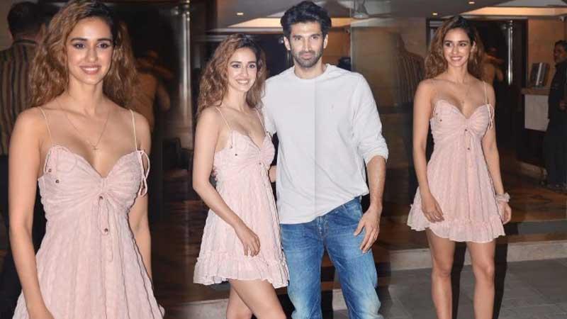 Malang Disha Patani Spotted In Mini Sultry Dress At Aditya Roy Kapoor S Party See Pics Truescoop