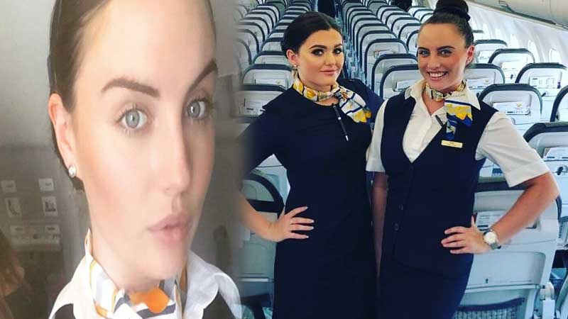 Airhostess breaks ankle in seven places after plane jumps 500 feet due to severe turbulence