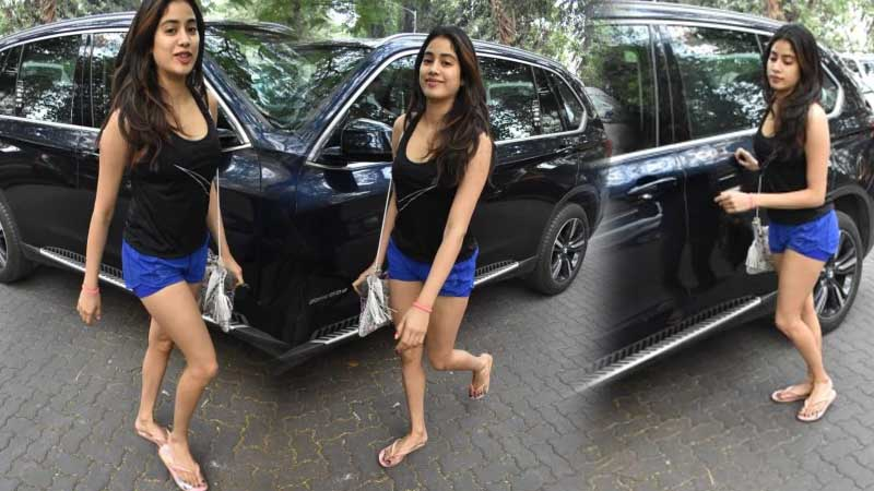 Janhvi Kapoor: Actress personifies hotness in casual gym fashion. See pics