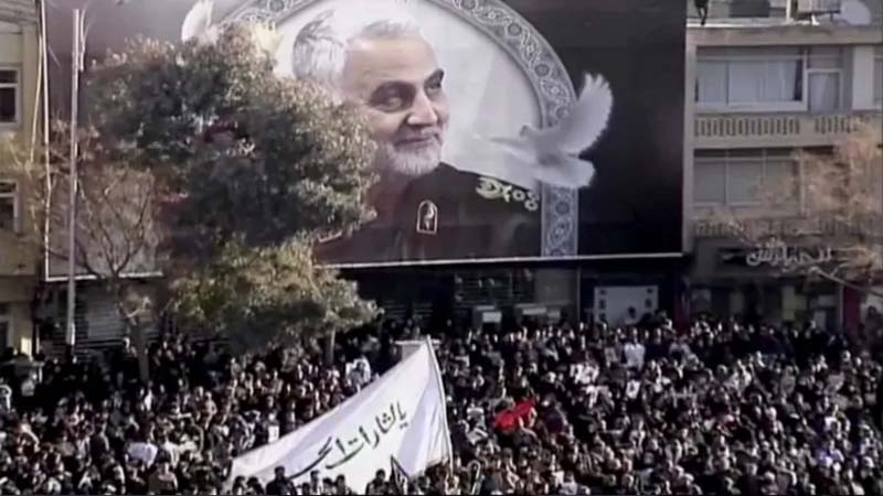 35 casualities at funeral of slain Iranian commander Qassem Soleimani