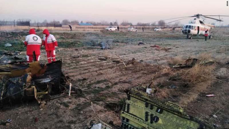Ukrainian plane crashes in Iran while take-off, 170 people on-board killed