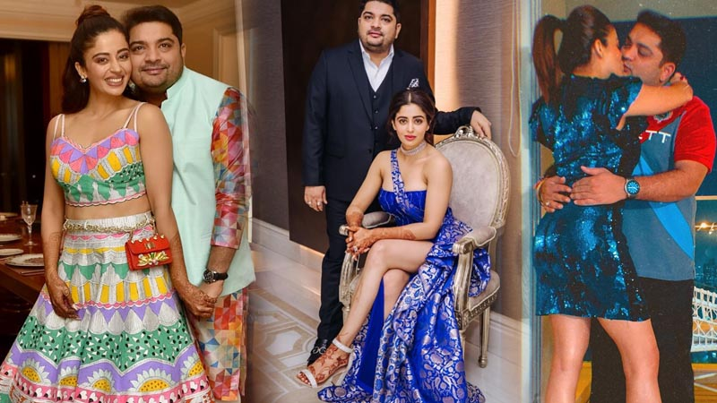 Neha Pendse Reception Pics: Former Big Boss contestant and tv actress looks divine