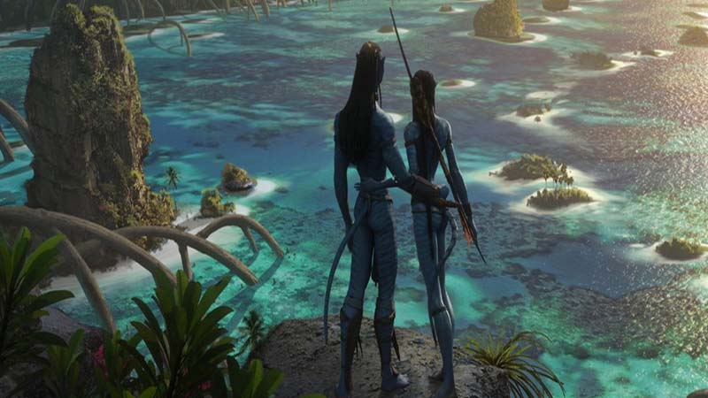 Director James Cameron aesthetically presents first look of Avatar 2