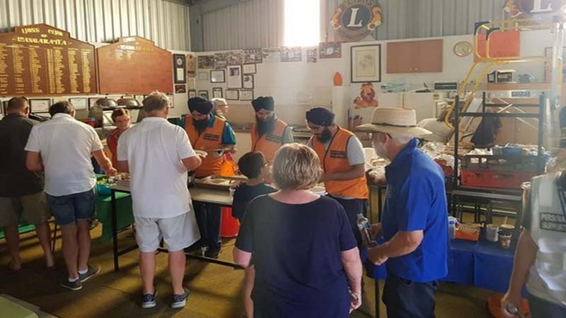 Australian Sikhs supporting relief works amidst bush-fires