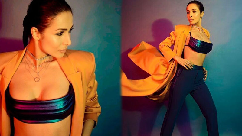 Malaika Arora raised the temperature in bralette, long coat and pants for latest shoot. Pics Inside