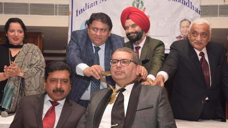 Dr Pankaj Paul becomes President of Indian Medical Association