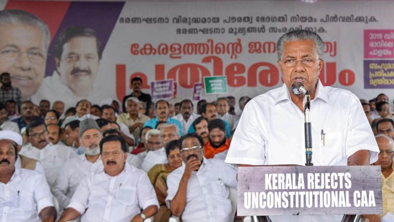 Kerala becomes first state to challenge Centre on CAA, moves to Supreme Court