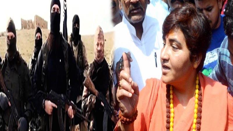 Controversial BJP MP Sadhvi Pragya receives death threat letter, cross on Modi-Yogi photo