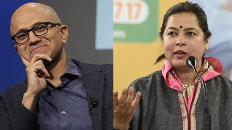 BJP MP Meenakashi Lekhi hits Microsoft CEO over CAA remark says, 'Literate needs to be educated'