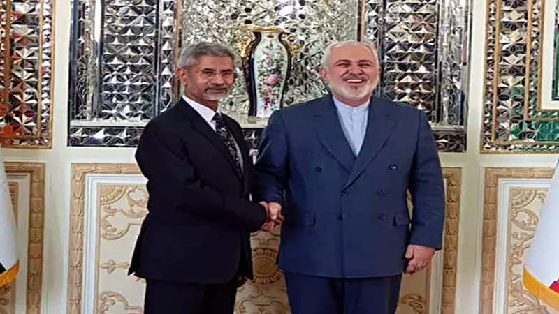 External Affairs Minister S Jaishankar hold negotiations with Iranian FM Javad Zarif