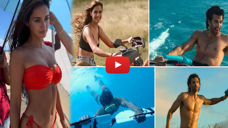 Malang Disha Patani Aditya Roy Kapur Sets New Romance Goals In New Song Humraah Teaser Truescoop