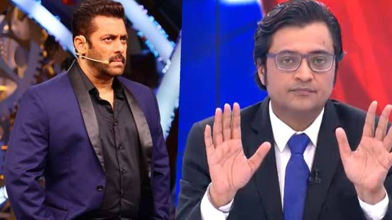 """They will shut your channel"""": Salman Khan breaks his silence on Arnab  Goswami and Republic TV in TRP Scam - TrueScoop"""