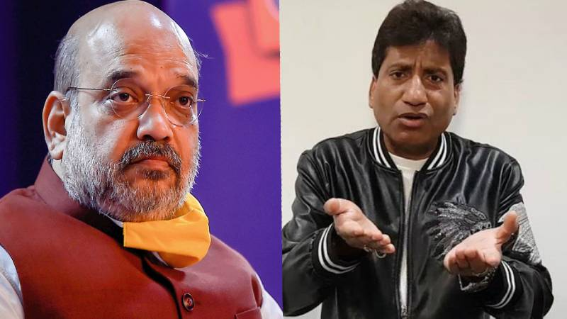 Comedian Raju Srivastava and his family receive death threats, request HM Amit Shah for help