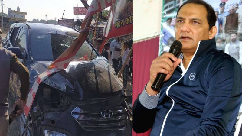 Former India captain Mohammad Azharuddin meets deadly car accident in Rajasthan
