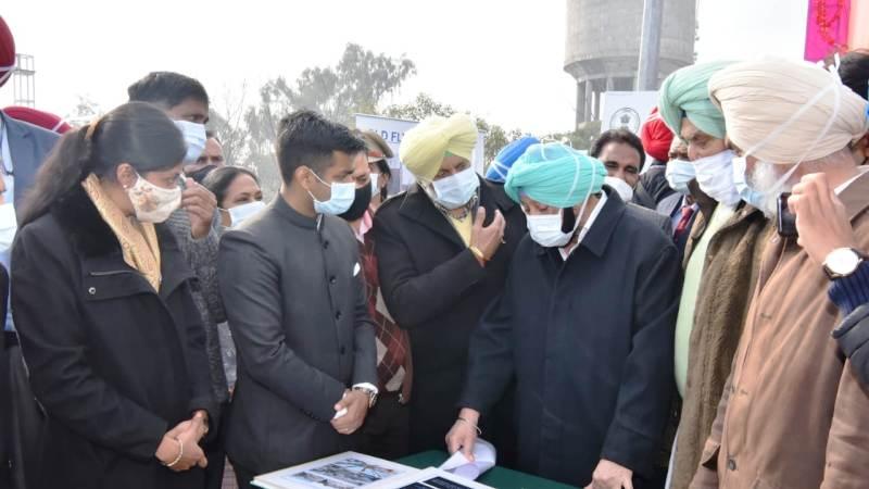 Capt Amarinder Dedicates Chandigarh-Kharar Elevated Corridor to Citizens of Punjab