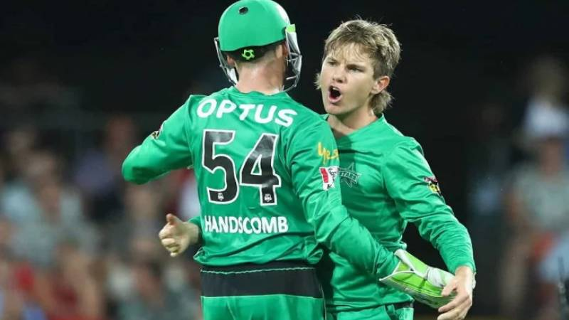 Adam Zampa banned for a game for uttering 'audible obscenity'