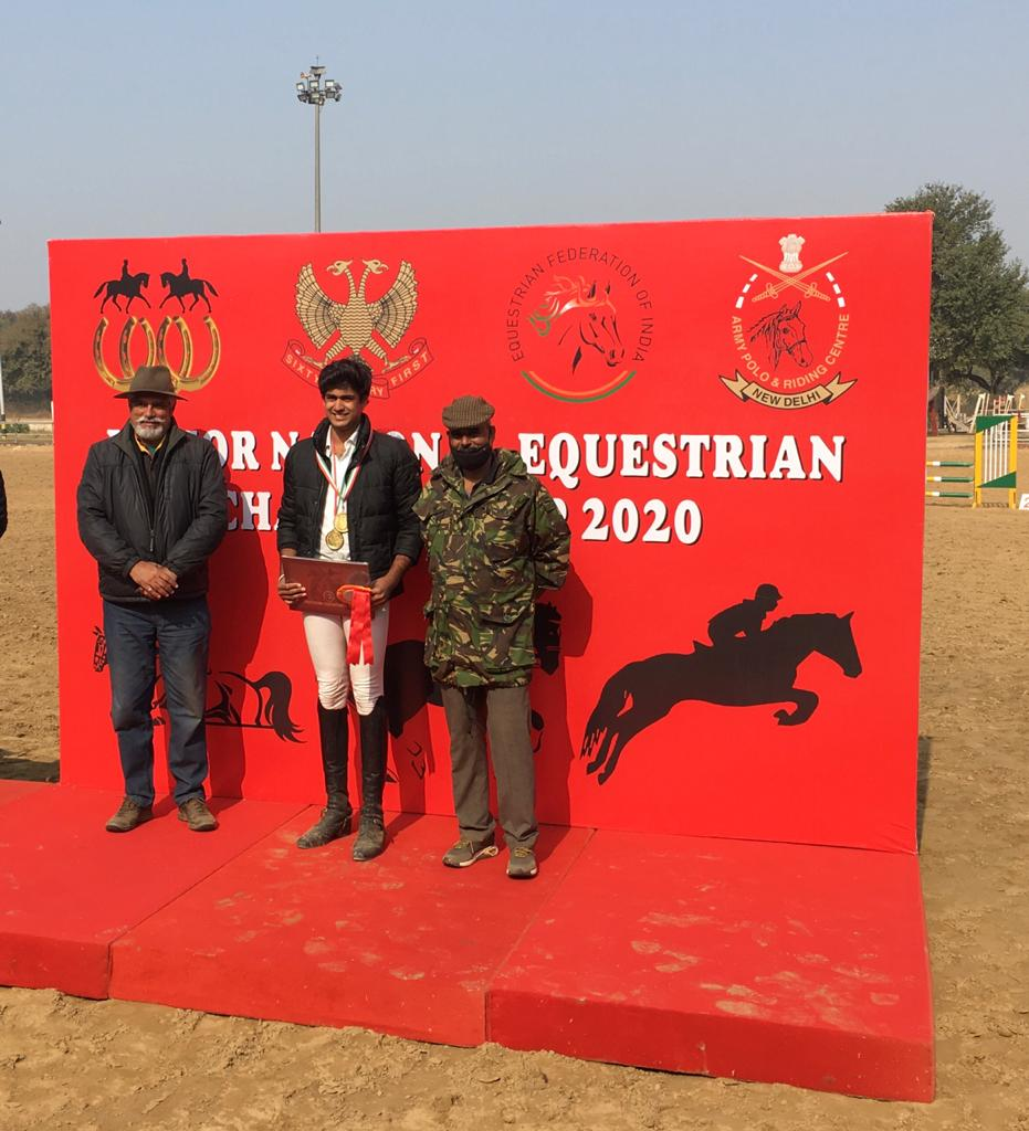 Jai Sud rides to glory with gold at National Equestrian Championship