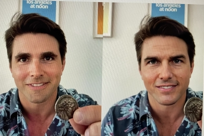 How this man impressed the world with Tom Cruise's deepfakes