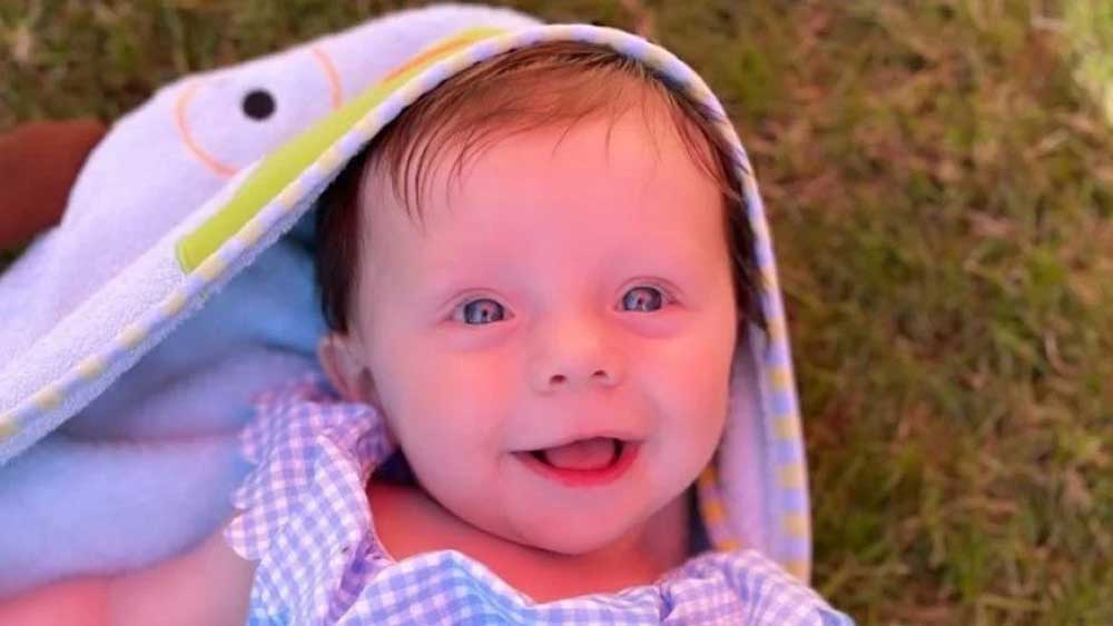 A five-month-old baby girl is 'turning into a stone', Know how?