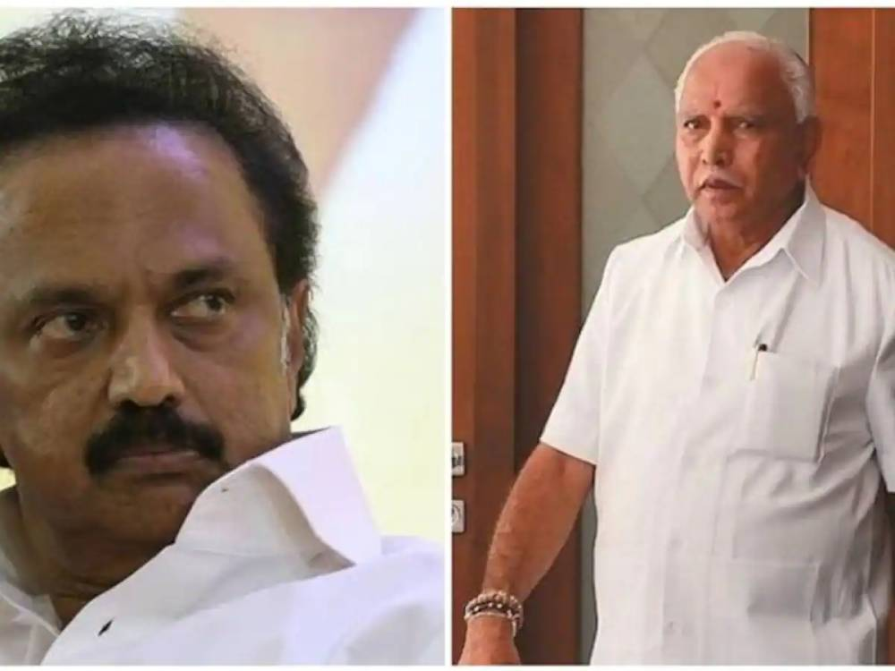 'It would risk water availability  to TN': Stalin urges Yediyurappa to not pursue with Mekedatu reservoir project