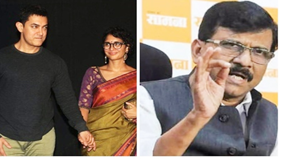 """BJP, Shiv Sena ties just like Aamir-Kiran, Sanjay Raut on Fadnavis """"not enemies"""" statement"""
