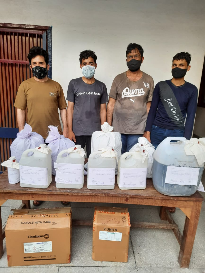 Punjab police bust Rs 90 crore drug supply chain, 17kg heroin seized, 4 Afghan nationals arrested