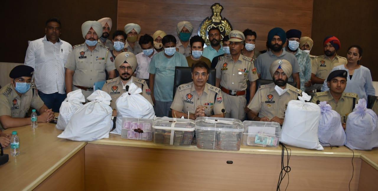 Arrest of four Afghanis led to busting of Interstate Drug and Hawala racket: SSP Navjot Mahal