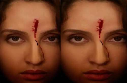 Know the reason of Nora Fatehi's forehead covered with blood that troubled her fans