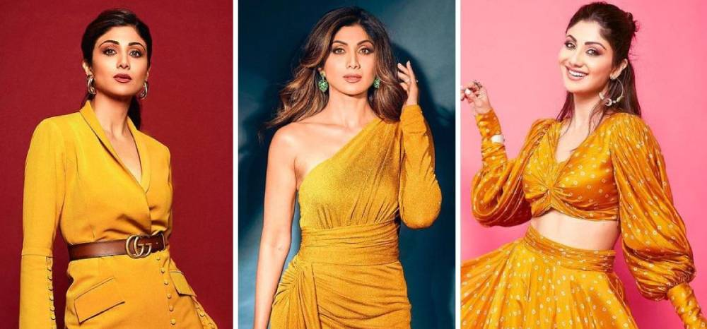 Times when Shilpa Shetty sparked bright like sunshine in yellow hues. See pics