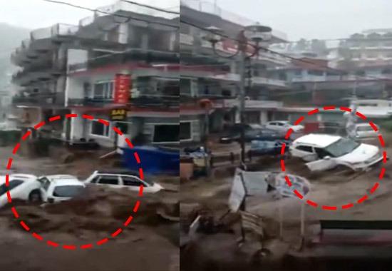 Cloudburst hits Dharamshala in Himachal Pradesh, NH blocked in Shimla