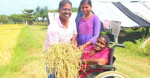 #FirstStoryPositive: Physically challenged Tamil Nadu woman grows organic food for 30 special kids