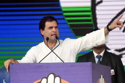 'Only jumlas no vaccine': Rahul Gandhi slams centre on shortage of covid vaccine