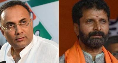 BJP's Ravi & Cong's Gundu Rao spar over controversial population control policy