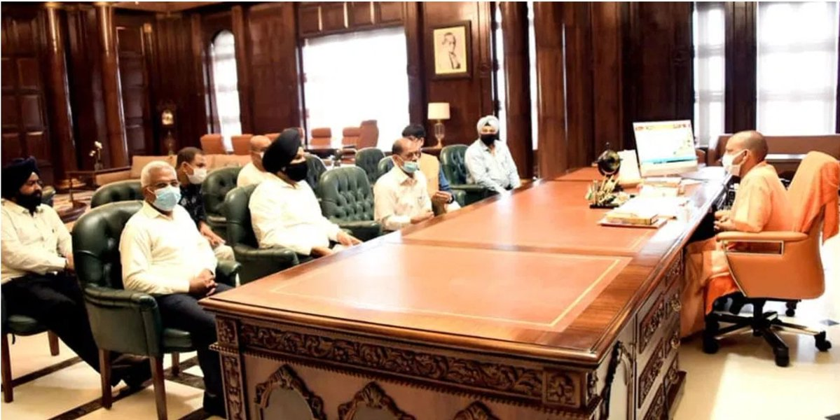 CM Yogi woos Punjab industrialists: Offers 24X7 power, cheap land & no law and order problem