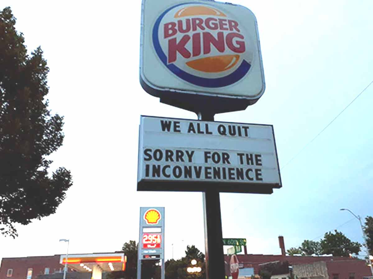 Burger King Employees resign! Know what made this happen?