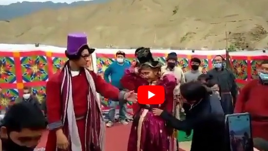 Aamir Khan-Kiran Rao Divorce: Happy with each other even after separation, dance together in Ladakh. See VIRAL Video