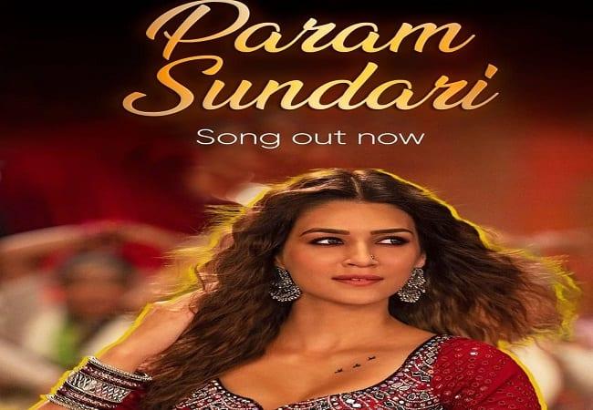 Kriti Sanon shows her sizzling dance moves in Mimi's Param Sundari song