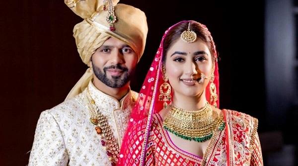 Rahul Vaidya-Disha Parmar, finally, tied the knot; Rahul dances whole-heartedly in his wedding procession