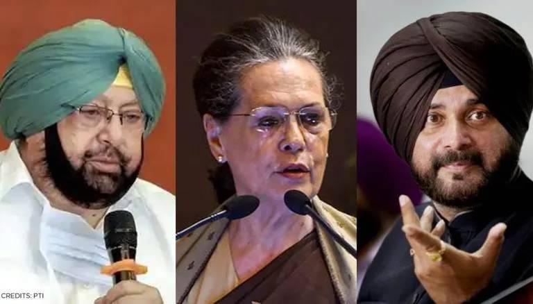 Punjab Political Drama: Capt Amarinder Singh writes to Sonia Gandhi against Sidhu as party chief, Harish Rawat to meet CM