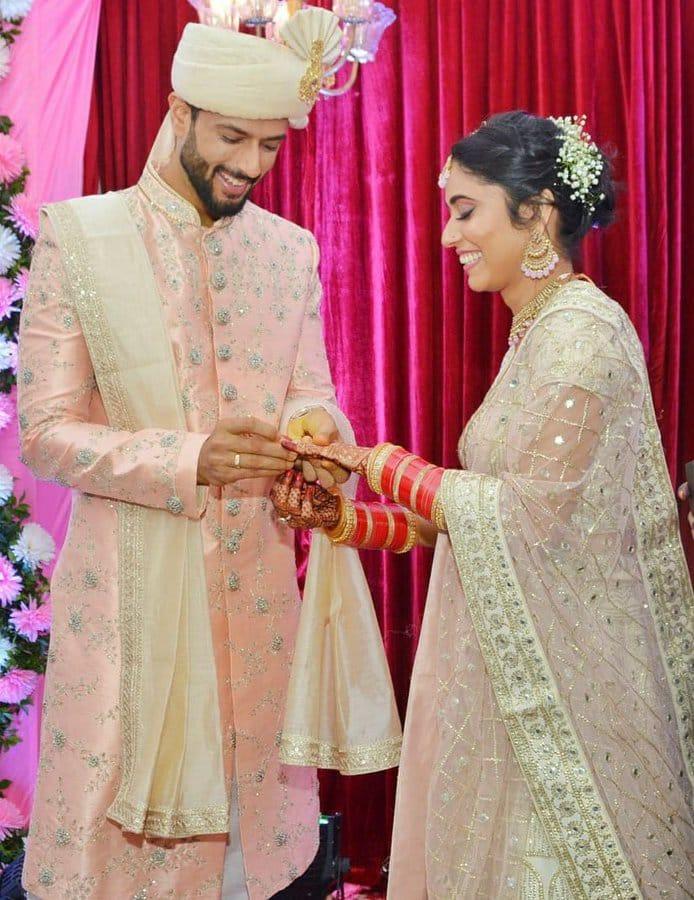 Love turned to love marriage, Shivam Dubey weds Anjum Khan