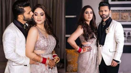 VIRAL Video: Newlyweds Disha Parmar-Rahul Vaidya's romantic couple dance from reception ceremony