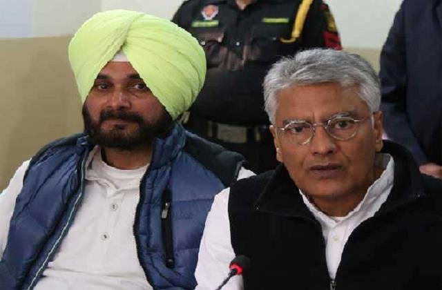 'Sunil Jakhar will always be my guide', says Navjot Sidhu