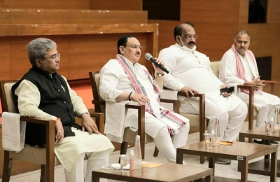 Nadda meets Punjab BJP leaders, discusses 'attacks' on party workers