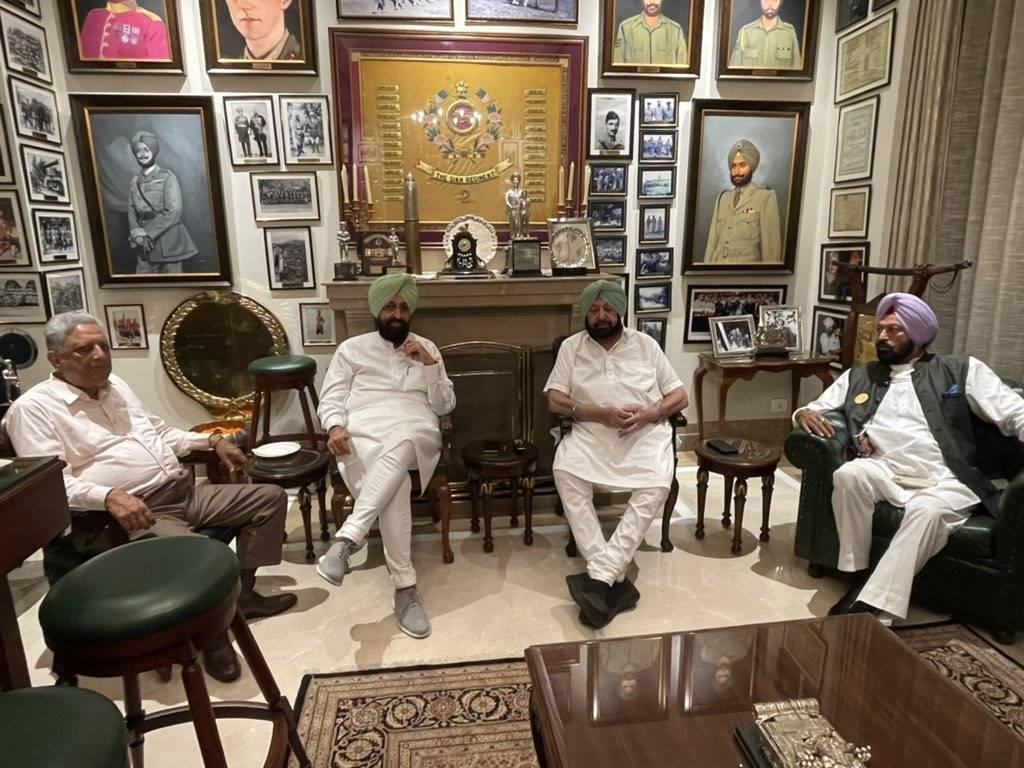 Punjab Congress Crisis: Capt Amarinder, Navjot Sidhu hold rounds of reconciliation among warring factions
