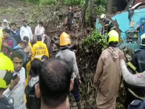 14 killed as heavy rains cause landslide in Mumbai's Chembur