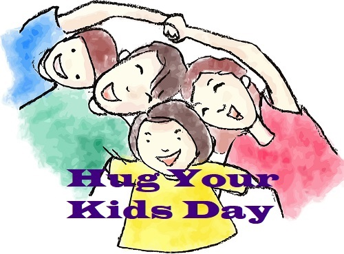 Global Hug Your Kids Day: Here are top ten reasons to why you should hug your kids more often!