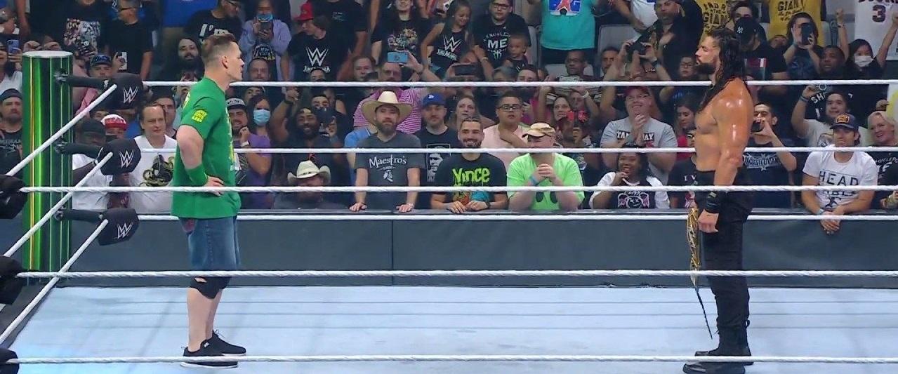 John Cena makes surprise return at WWE Money in Bank 2021