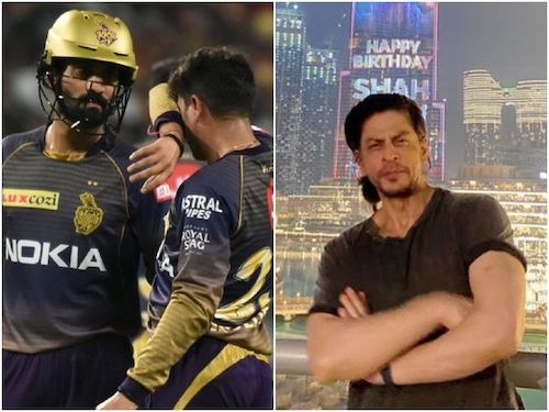 When SRK Booked A Private JetFor Dinesh Karthik, Proves Why People Call Him 'King Khan'